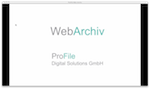 ProFile Web-Archiv