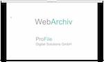 ProFile Web-Archiv